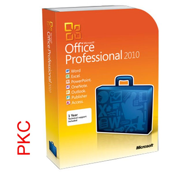 MS Office 2010 Professional PKC dt.geb.