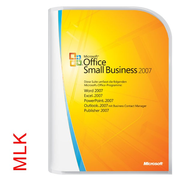 MS Office 2007 Small Business MLK dt.