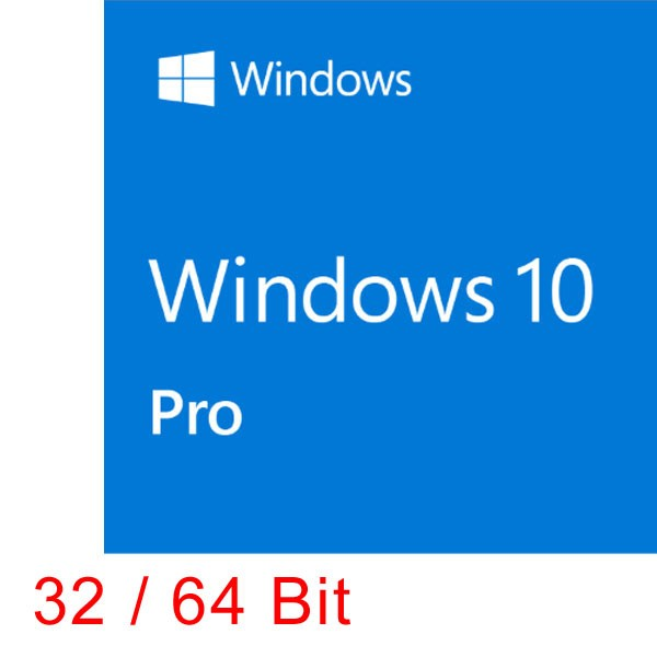 MS Windows 10 Pro 32/64 bit dt.