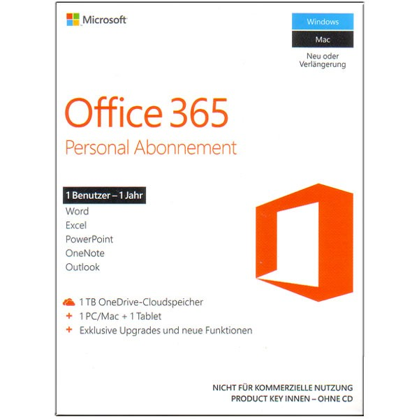 MS Office 365 Single PKC engl.